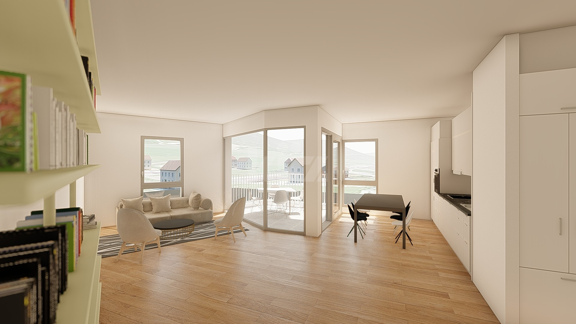 NEUF: lumineux et spacieux appartements de 2,5p - 3