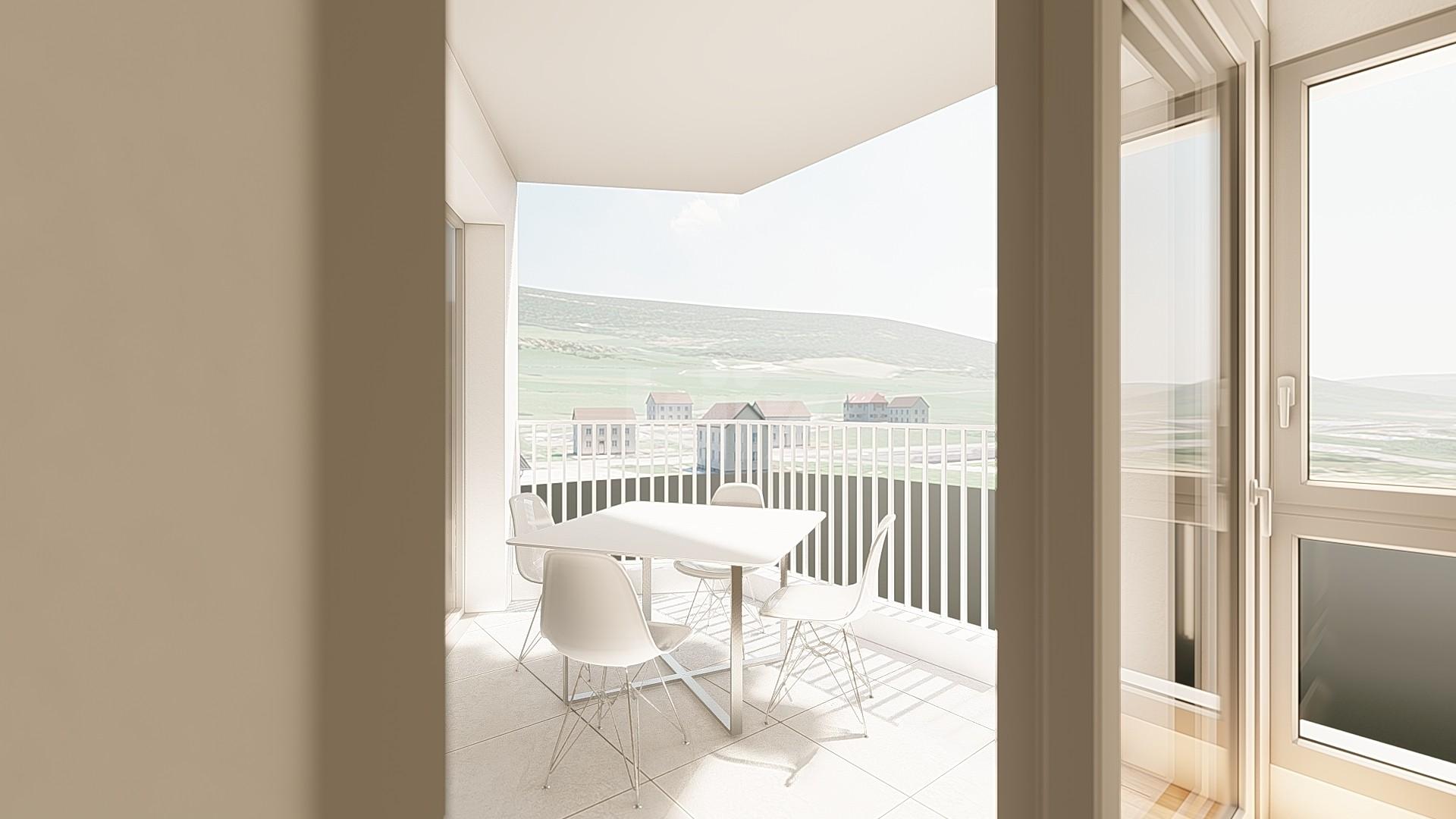 NEUF: lumineux et spacieux appartements de 2,5p - 8
