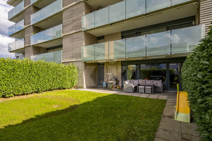Très bel appartement traversant avec terrasse et jardin - 1