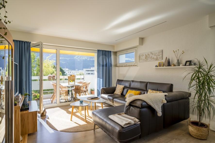 Bel appartement avec vue dégagée sur les montagnes - 1