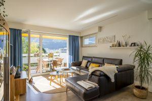 Bel appartement avec vue dégagée sur les montagnes