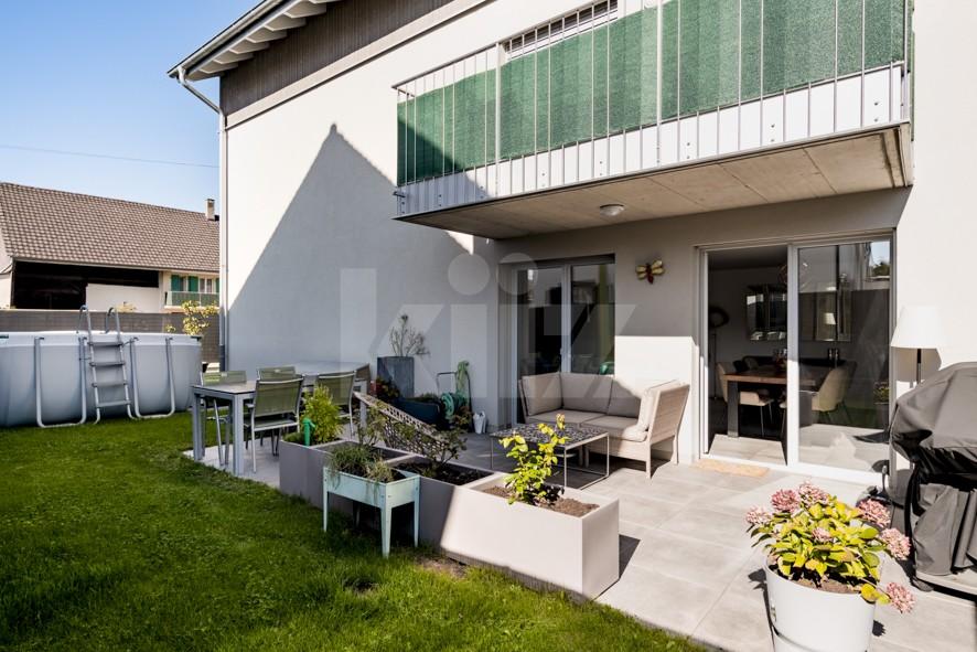 Très bel appartement moderne avec terrasse et jardin - 1