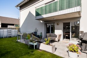 Très bel appartement moderne avec terrasse et jardin